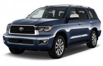 2018 Toyota Sequoia Limited RWD (Natl) Angular Front Exterior View