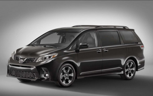 2018 Toyota Sienna Vs Chrysler Pacifica Dodge Grand Caravan Honda