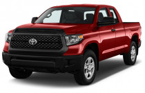 2018 Toyota Tundra 2WD SR Double Cab 6.5' Bed 4.6L (Natl) Angular Front Exterior View