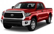 2018 Toyota Tundra 2WD SR5 Double Cab 8.1' Bed 5.7L (Natl) Angular Front Exterior View