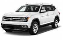 2018 Volkswagen Atlas 3.6L V6 SEL 4MOTION Angular Front Exterior View