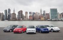 2018 Volkswagen Golf lineup
