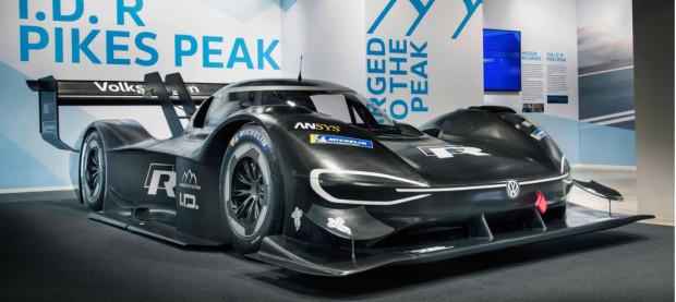 2018 Volkswagen ID R Pikes Peak race car