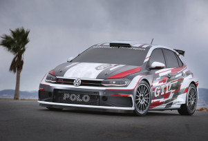 2018 Volkswagen Polo GTI R5 rally car