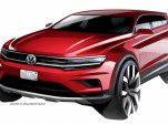 2018 Volkswagen Tiguan Allspace teased ahead of 2017 Detroit auto show