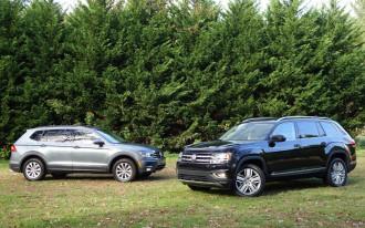 2018 Volkswagen Atlas vs. 2018 Volkswagen Tiguan: Compare Cars