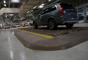 2018 Volvo XC90 rolls off the assembly line in Torslanda, Sweden