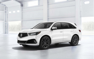 2019 Acura MDX gets modest sporty new trim, even more modest price bump