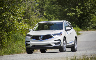 2019 Acura RDX aces IIHS crash tests