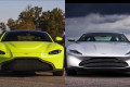 2019 Aston Martin Vantage and DB10