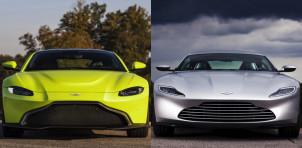 2019 Aston Martin Vantage and DB10