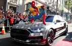 """2019 Audi A8 shows up at """"Spider-Man: Homecoming"""" premiere"""