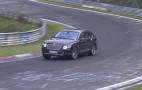 2019 Bentley Bentayga Hybrid spy video