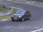2019 Bentley Bentayga Hybrid prototype testing at the Nürburgring
