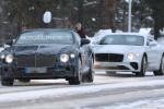 2019 Bentley Continental GT Convertible spy shots