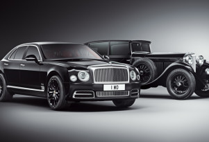 2019 Bentley Mulsanne W.O. Edition by Mulliner and 1930 Bentley 8 Litre