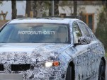 2019 BMW 3-Series, portion of spy shot from Motor Authority  [Image via S. Balfauf/SB-Medien]