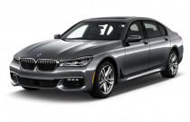 2019 BMW 7-Series 750i Sedan Angular Front Exterior View