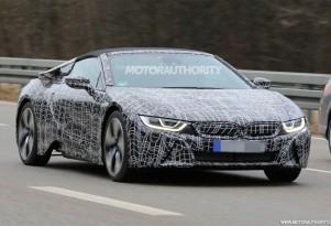 2019 BMW i8 Roadster spy shots - Image via S. Baldauf/SB-Medien