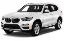 2019 BMW X3 sDrive30i Sports Activity Vehicle Angular Front Exterior View