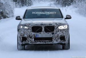 2019 BMW X4 M spy shots - Image via S. Baldauf/SB-Medien
