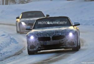 2019 BMW Z4 spy shots - Image via S. Baldauf/SB-Medien