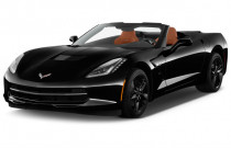 2019 Chevrolet Corvette 2-door Stingray Convertible w/2LT Angular Front Exterior View