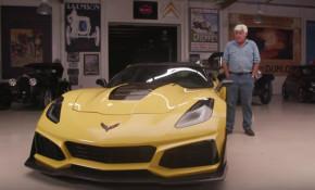 2019 Chevrolet Corvette ZR1 at Jay Leno's Garage