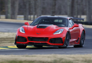 2019 Chevrolet Corvette ZR1 at Virginia International Raceway