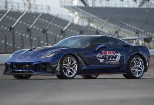2019 Chevrolet Corvette ZR1 pace car for the  2018 Indianapolis 500