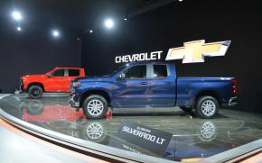 2019 Chevrolet Silverado 1500, 2018 Detroit auto show