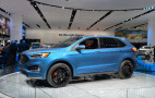 Meet the 2019 Ford Edge ST, for when the soccer team is running late