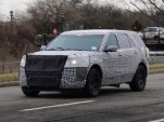 2020 Ford Explorer spy shots - Image via Tom Poeschel