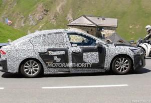 2019 Ford Focus Sedan spy shots - Image via S. Baldauf/SB-Medien