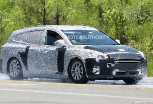 2019 Ford Focus Wagon spy shots - Image via S. Baldauf/SB-Medien