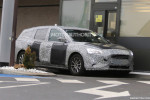 2019 Ford Focus Wagon spy shots and video