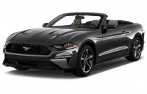 2019 Ford Mustang EcoBoost Convertible Angular Front Exterior View