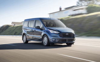 2019 Ford Transit Connect Wagon mixes diesel power with passenger hauling