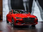 2019 Genesis G70, 2018 New York auto show