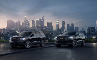 2019 GMC Terrain and GMC Acadia Black Editions say no to chrome