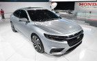2019 Honda Insight prototype debuts in Detroit; 50 mpg or better projected