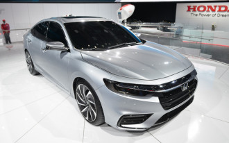 2019 Honda Insight hybrid to debut in Detroit, promises 50 mpg combined