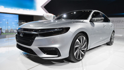 Honda Insight Prototype, 2018 Detroit auto show