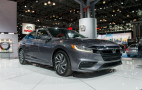 2019 Honda Insight: good-looking 50-mpg competitor for Prius hybrid