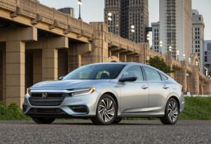 2019 Honda Insight first drive mpg review: 55 mpg from hybrid sedan