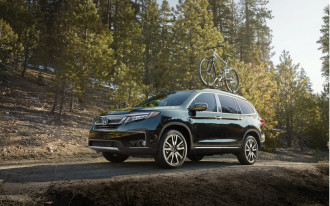 2019 Honda Pilot, Goodwood Festival parking lot, Mitsubishi Outlander PHEV driven: What's New @ The Car Connection