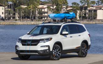 2019 Honda Pilot, 2019 Honda Insight earn Top Safety Pick+ awards