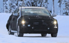 2019 Hyundai Elantra Electric spy shots
