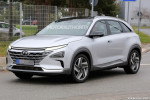 2019 Hyundai fuel cell SUV spy shots