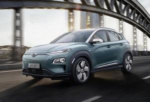 Hyundai Kona Electric debuts before Geneva show; 292-mile range from top model